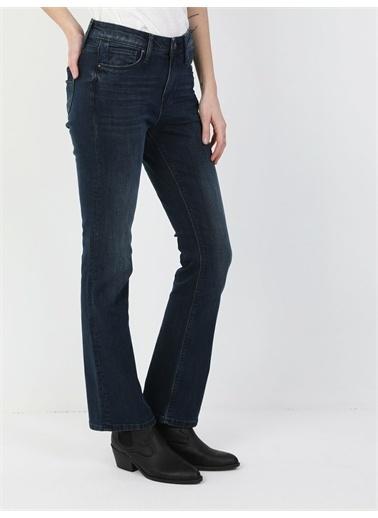 Colin's 791 Monıca Orta Bel Rahat Paça Regular Fit Kadın Jean Pantolon Renkli